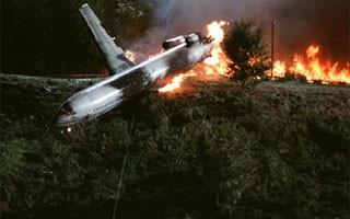 A cena do avião demorou seis meses para ficar pronta (Foto: Divulgação / Reprodução)