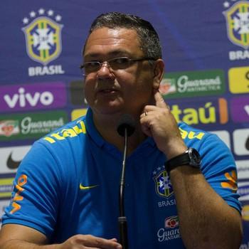 Rogério Micale Brasil sub-23 x EUA  (Foto: Adelson Costa/Pernambuco Press)