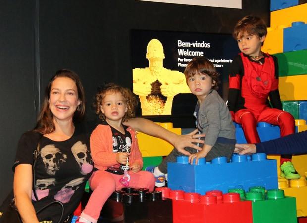 Luana Piovani, Liz, Bem e Dom (Foto: Fabio Moreno/AgNews)