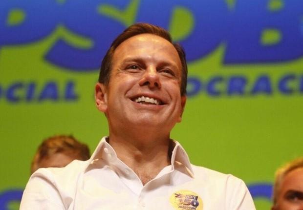 O candidato do PSDB à prefeitura de São Paulo, João Doria (Foto: Reprodução/Facebook)