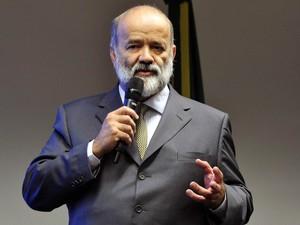 O tesoureiro do PT, João Vaccari Neto, é ouvido na CPI da Petrobras, na Câmara dos Deputados, em Brasília (Foto: Luis Macedo/Câmara dos Deputados)