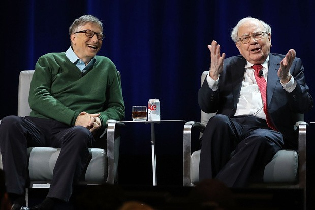 Bill Gates e Warren Buffet (Foto:  Spencer Platt/Getty Images)