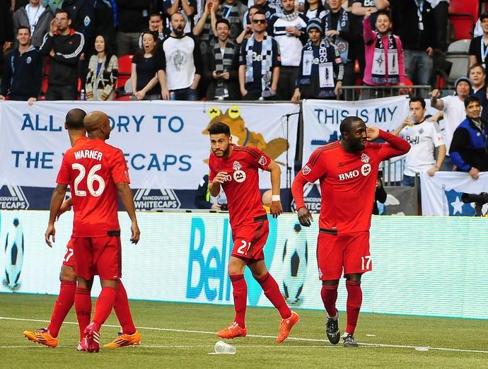 Jozy Altidore, Vancouver Whitecaps x Toronto FC (Foto: Agência Reuters)