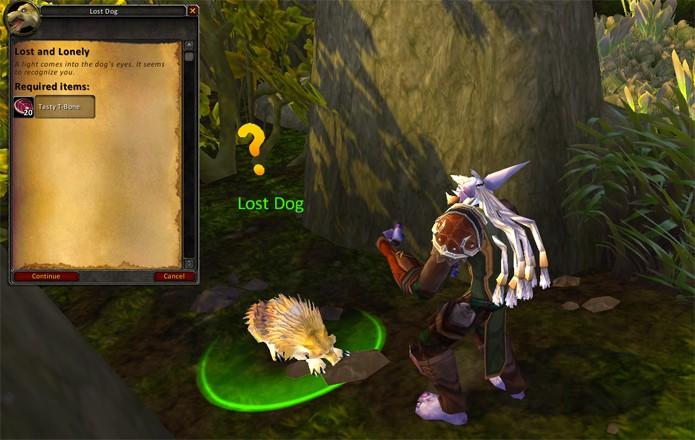 Mascotes podem ser encontrados em missões no WoW (Foto: Reprodução/WoWArrow)
