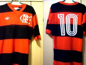 camisa Zico Flamengo (Foto  Divulgação   Arquivo Pessoal) 86d637766d161