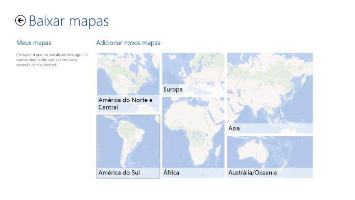 Escolha o continente (Foto: Reprodução/Helito Bijora)