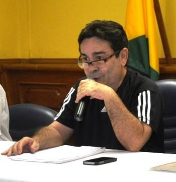Getúlio Pinheiro, presidente do Conselho Deliberativo do Rio Branco-AC (Foto: Duaine Rodrigues)