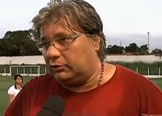 Treinador do Cordino (MA), Luís Miguel (Foto: Reprodução/TV Mirante)