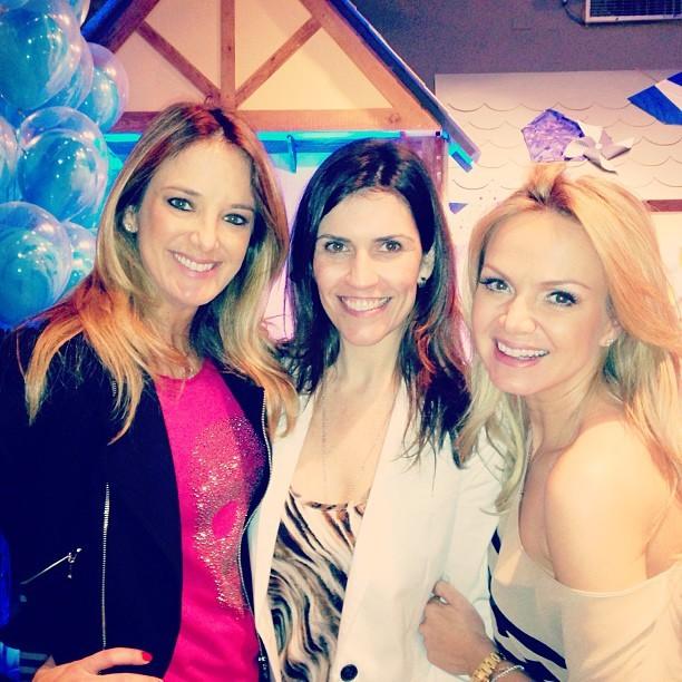 Ticiane Pinheiro, Cintia Araium e Eliana (Foto: Reprodução/Instagram)