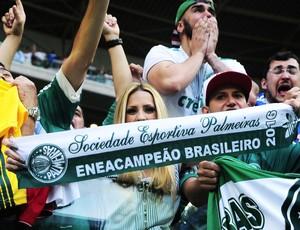 Torcida Palmeiras Eneacampeão (Foto: Marcos Ribolli)