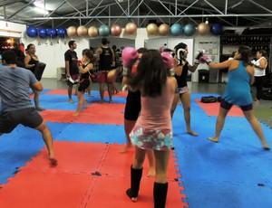 Alunos da Art Muay Thai (Foto: Divulgação / Art Muay Thai)