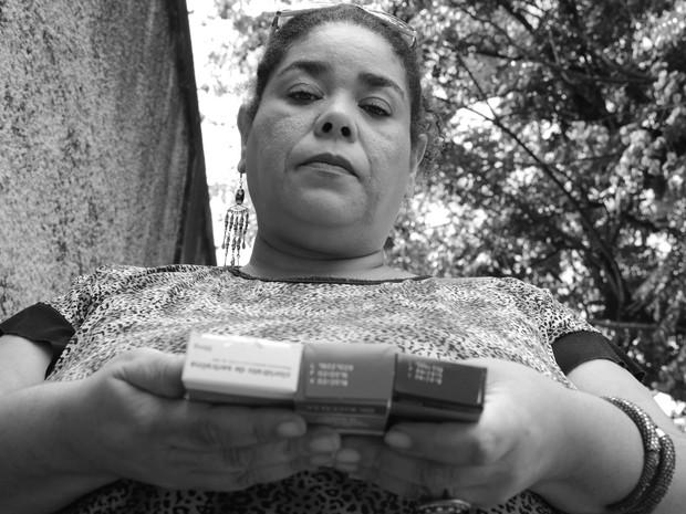 Fabiana conseguiu novo emprego, mas afastou-se após ser diagnosticada com câncer (Foto: Fernando Pacífico / G1 Campinas)