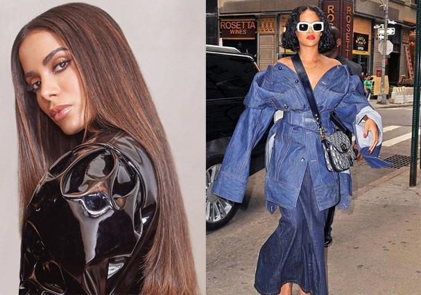 Anitta ultrapassa Rihanna na Billboard (Foto: Reprodução/Instagram)