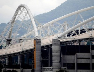 Estádio Engenhão problemas na estrutura (Foto: Agência Reuters)