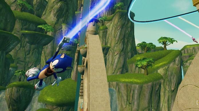 Sonic se segura por um fio ao que ainda resta de sua credibilidade (Foto: Videogamer)