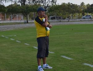 Suélio Lacerda, treinador, Lucena (Foto: Pedro Alves / GloboEsporte.com/pb)