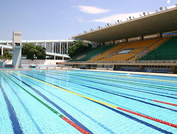 parque aquático julio delamare (Foto: Thiago Lavinas / Globoesporte.com)