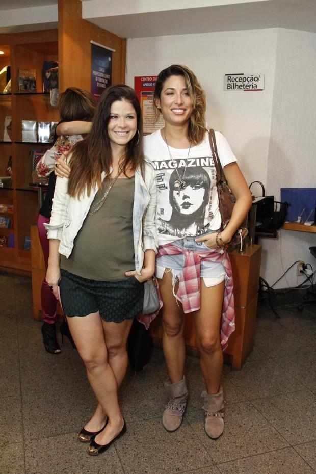 Samara Felippo e Gisele Itié (Foto: Thyago Andrade/Foto Rionews)