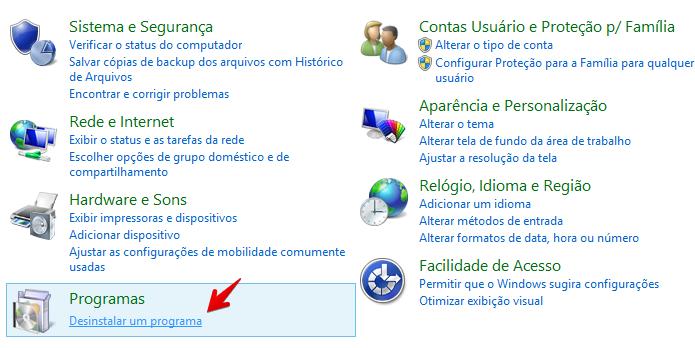 Acesse o Painel de Controle do Windows (Foto: Reprodução/Helito Bijora)