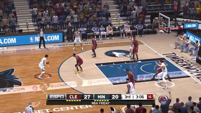 NBA Live 15 (Foto: Reprodução)