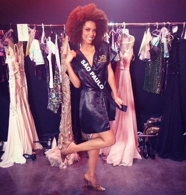 Karten Porfiro conquistou faixa de Miss SP 2017 (Foto: Reprodução/Instagram)