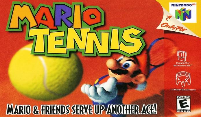 Capa do Mario Tennis (Foto: Divulgação/Nintendo)