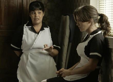 Clara se preocupa com alerta de Janete