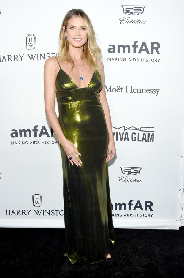 Heidi Klum em evento em Los Angeles, nos Estados Unidos (Foto: Kevin Tachman/ Getty Images)