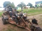 Aventureiro chega a Macapá após percorrer o Brasil em motocicleta