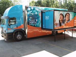 Projeto Nossa Energia é realizado em uma unidade móvel (Foto: Divulgação/Energisa)