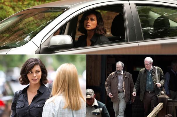 Jessica (Morena Baccarin) procura Carrie pedindo a ajuda da agente para procurar Dana (Morgan Saylor) (Foto: Divulgação/Reprodução)