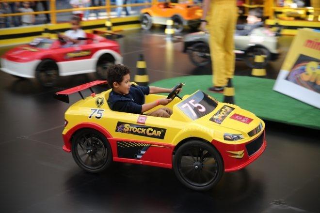 mini pista stock car (Foto: Divulgação)