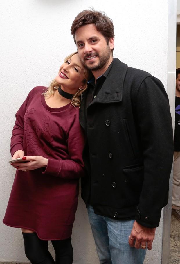 Claudia Leitte e o marido, Márcio Pedreira (Foto: Rafael Cusato/Brazil News)