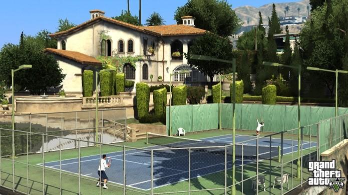 Casas podem ser compradas de várias formas (Foto: Divulgação/Rockstar)