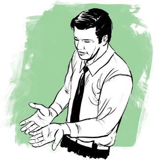 Mãos suadas (Foto: Farrell)