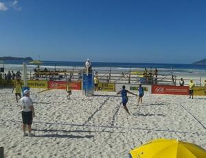 Dupla de RO estreia com pé direito no Brasileiro de Vôlei de Praia Sub-19 (Foto: Divulgação/FRV)