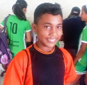 Francisco Barros, 13 anos, Acre (Foto: Adelcimar Carvalho)