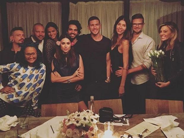Thaila Ayala comemora aniversário com Bruna Marquezine e mais em Los Angeles, nos Estados Unidos (Foto: Instagram/ Reprodução)