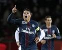 Thiago Silva faz dois gols e leva PSG à semifinal da Copa da Liga Francesa