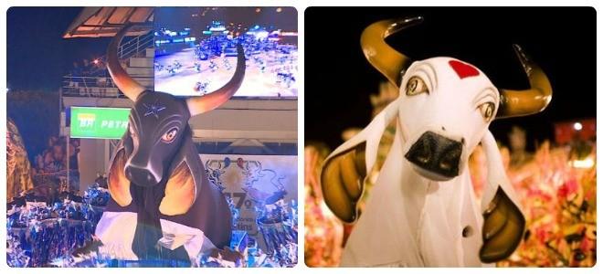 Caprichoso e Garantido disputaram o 47º Festival Folclórico de Parintins (Foto: Divulgação)