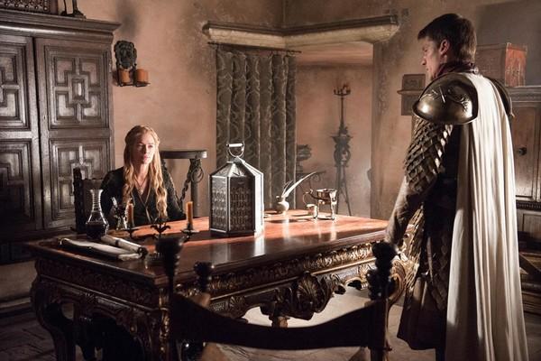 Lena Headey como Cersei Lannister e Nikolaj Coster-Waldau como Jaime Lannister  (Foto: Divulgação HBO)