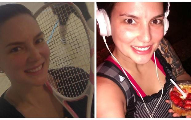 Priscila Trindade Squash Eu Atleta (Foto: Arquivo Pessoal)