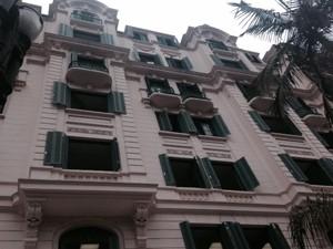 Palacete dos Artistas foi o primeiro prédio restaurado pelo Programa Renova Centro, da Secretaria Municipal de Habitação (Sehab). (Foto: Olívia Florência/G1)