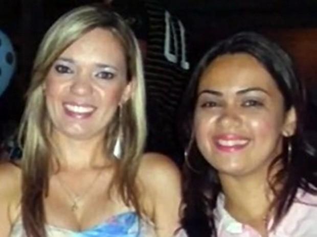 Izabella Monteiro e Michelle Domingues morreram após estupro coletivo em Queimadas (Foto: Arquivo Pessoal)