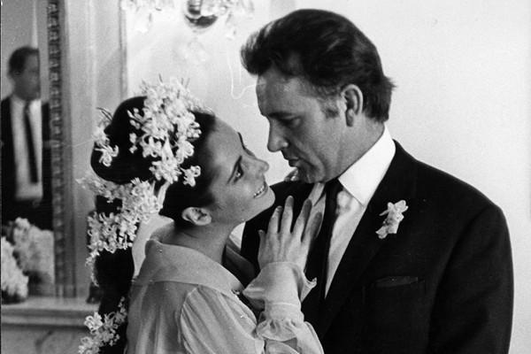 Elizabeth Taylor e Richard Burton (Foto: Getty Images)