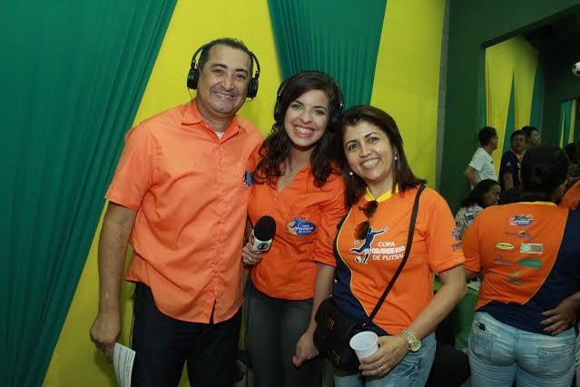 A Copa TV Grande Rio de Futsal foi o primeiro projeto que Joelma implantou na TV Grande Rio (Foto: Arquivo Pessoal)