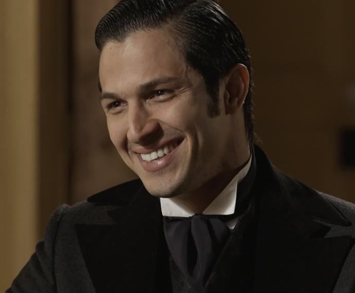 Roberto Borghini é irmão de Melissa e filho de Dorotéia (Foto: TV Globo)