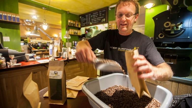 café_europa_grão (Foto: Editora Globo / Marcelo Min)