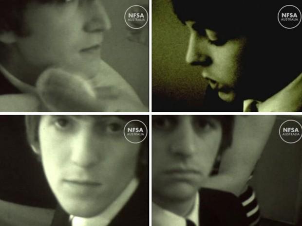 Austrália divulga imagens inéditas dos Beatles