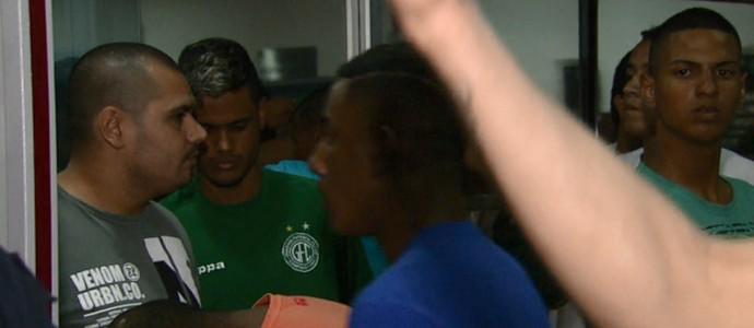 Briga torcedores Guarani e Ponte Preta Campinas (Foto: Oscar Herculano Jr / EPTV)